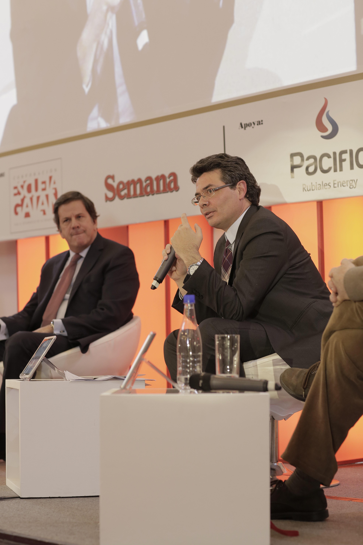 Roberto Pombo y Alejandro Gaviria