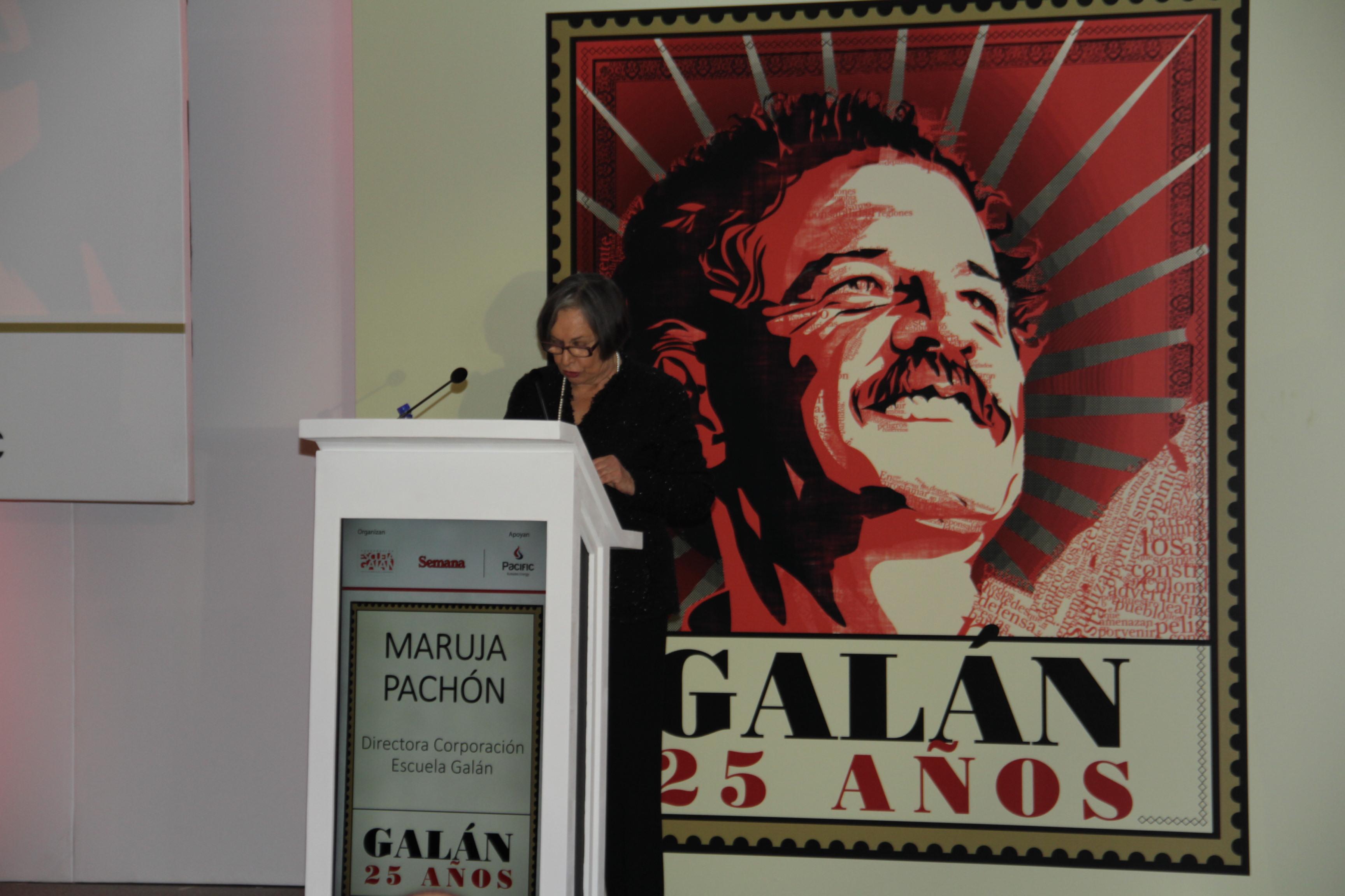 Maruja Pachón, Directora Escuela Galán