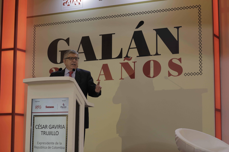 César Gaviria Trujillo, Expresidente de la República