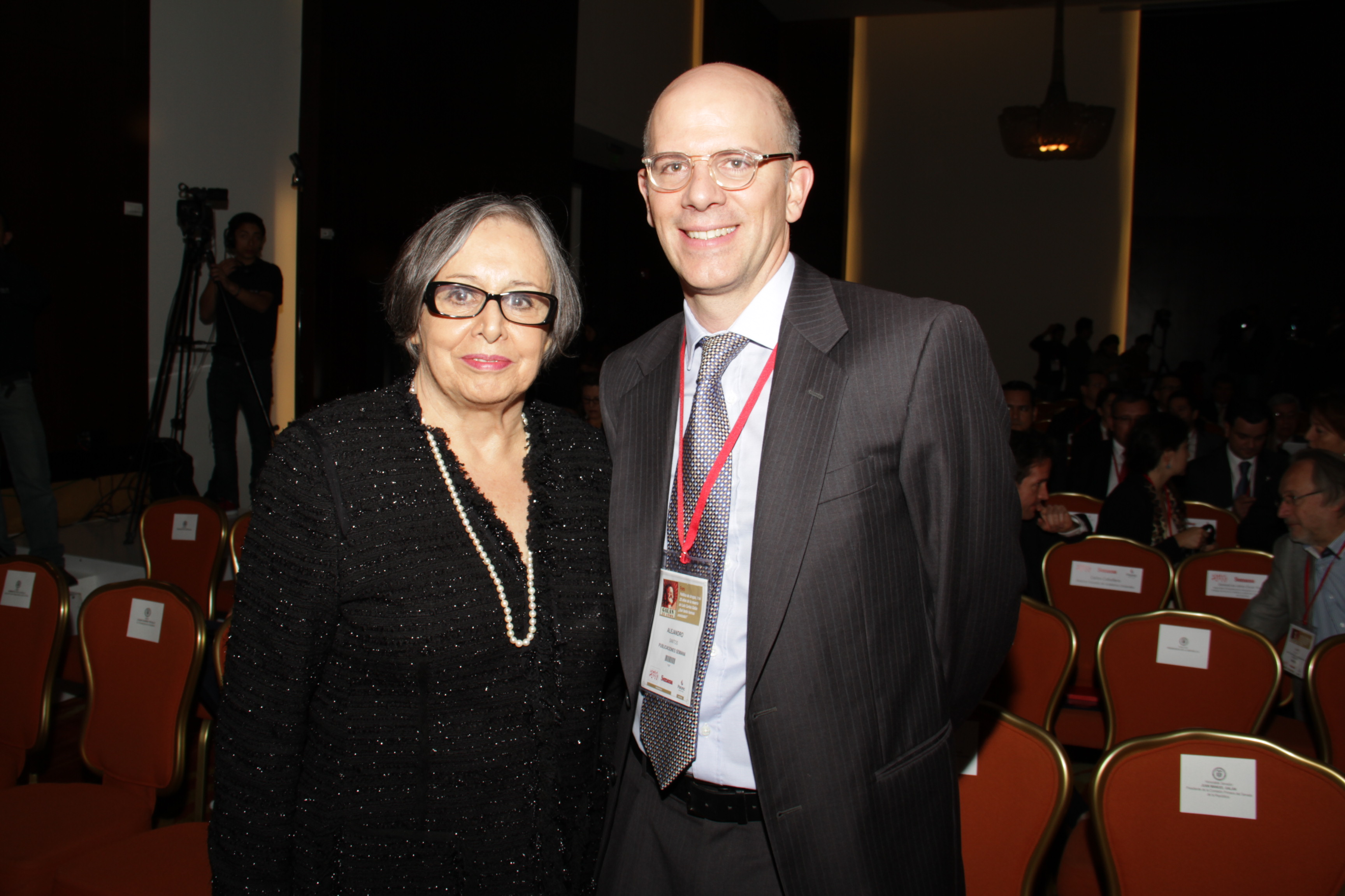 Maruja Pachón y Alejandro Santos