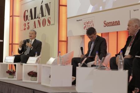 Oscar Naranjo, Rodrigo Pardo y Rudolf Hommes