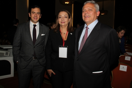 Rodrigo Lara, Martha Quiroz y Hernan Andrade Serrano