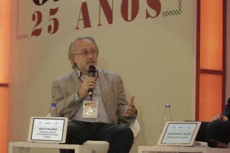 Julio Calzada, Secretario General en la Junta Nacional de Drogas de Uruguay