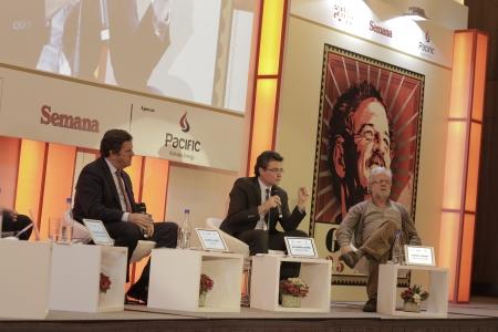Roberto Pombo, Alejandro Gaviria y Rodrigo Uprimny