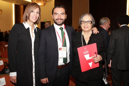 Yanela Jácome, Andrés Villamizar y Maruja Pachón