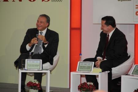 Oscar Naranjo y Juan Mario Laserna