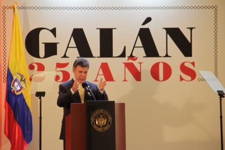 Juan Manuel Santos Calderón, Presidente de la República de Colombia