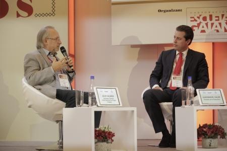 Julio Calzada y Juan Manuel Galán.