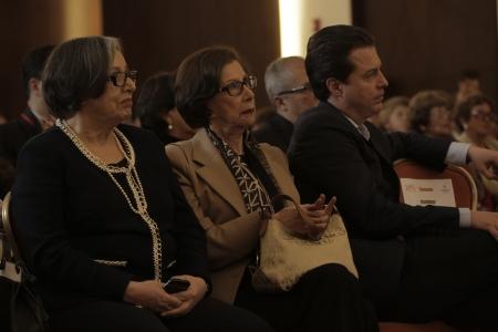 Maruja Pachón, Gloria Pachón de Galán y César Pardo