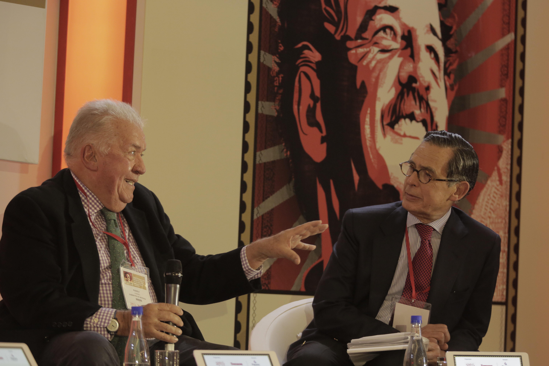 Rudolf Hommes y Carlos Caballero