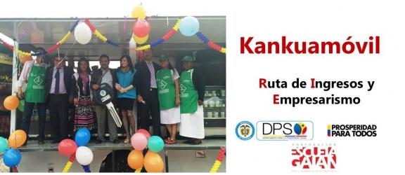 A través de esta tienda móvil se llevarán productos del pueblo Kankuamo a todo el país